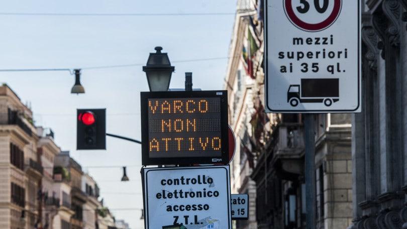 Roma, varchi traffico ZTL aperti fino al 30 agosto