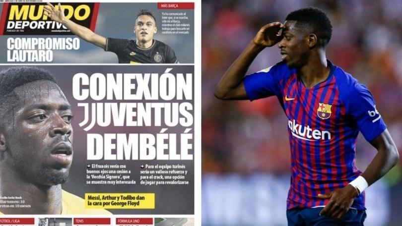 """Barcellona, svolta Dembélé: va verso il sì alla Juve"""