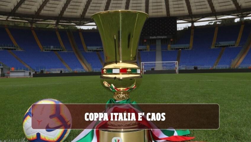 Coppa Italia, è caos: l'Inter vuole cambiare, Juve e Milan dicono no