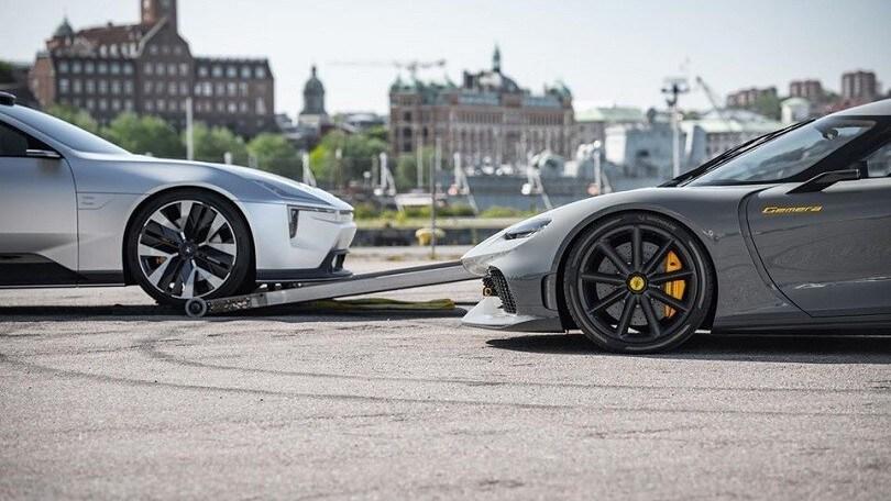 Koenigsegg e Polestar, insieme per una collaborazione eccitante