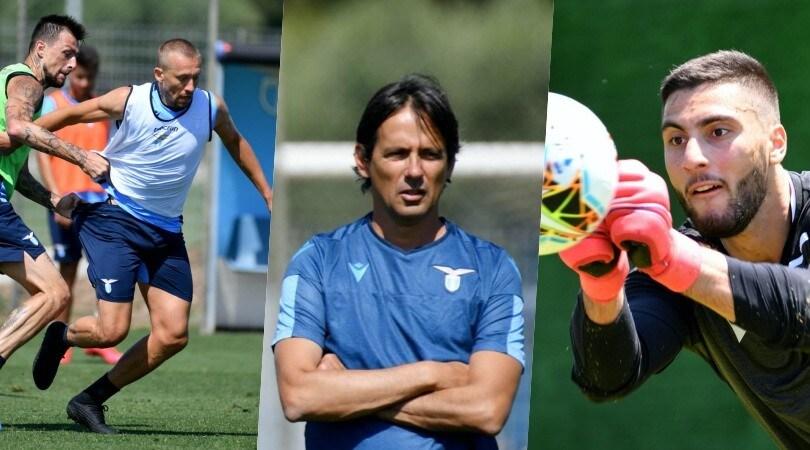 Lazio, a Formello quanta grinta! Leiva recuperato, Strakosha c'è