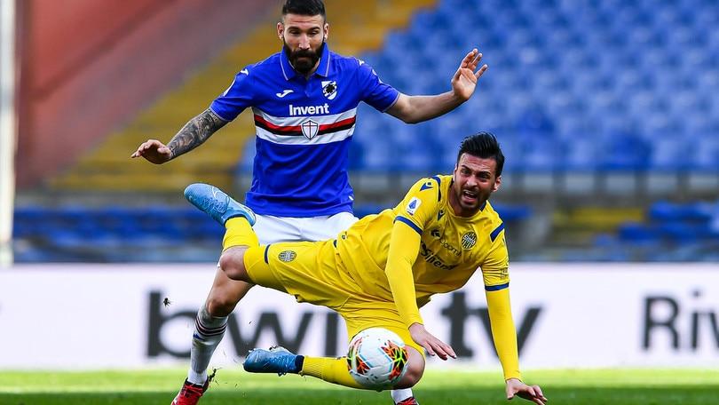 Sampdoria, lavoro individuale per Tonelli