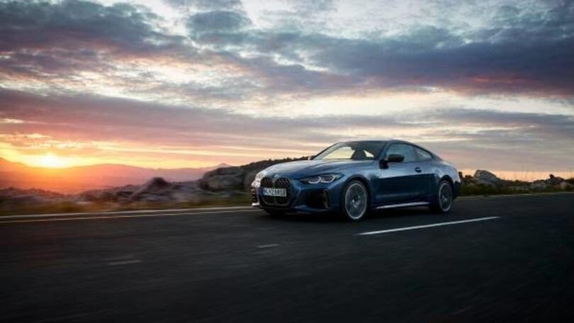 Nuova BMW Serie 4 Coupé, sportiva potente dal cuore mild hybrid