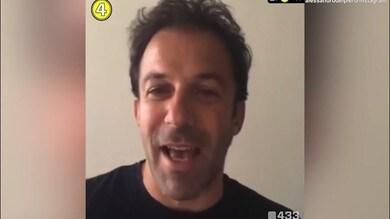 Del Piero-Bernardo Silva: duetto social