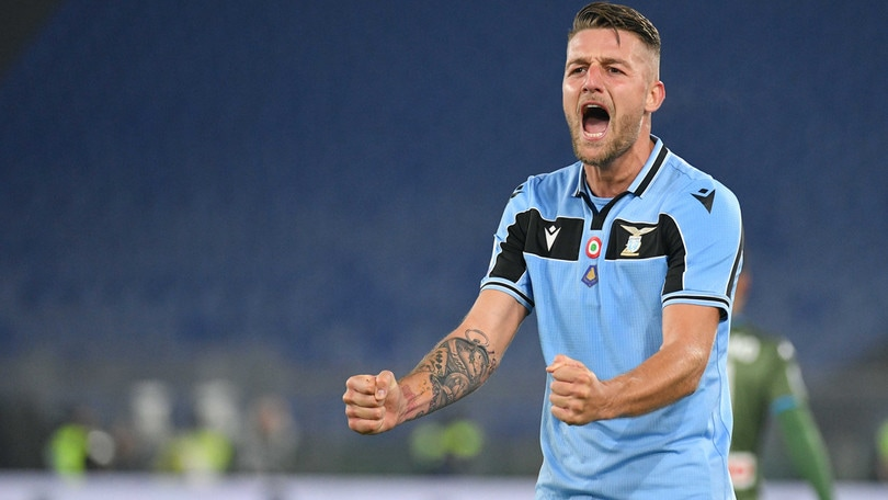 """Milinkovic carica la Lazio: """"Abbiamo il dovere di provarci"""""""