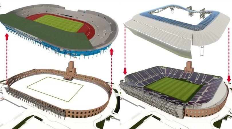 Stadio Bologna, ecco come sarà il nuovo Dall'Ara
