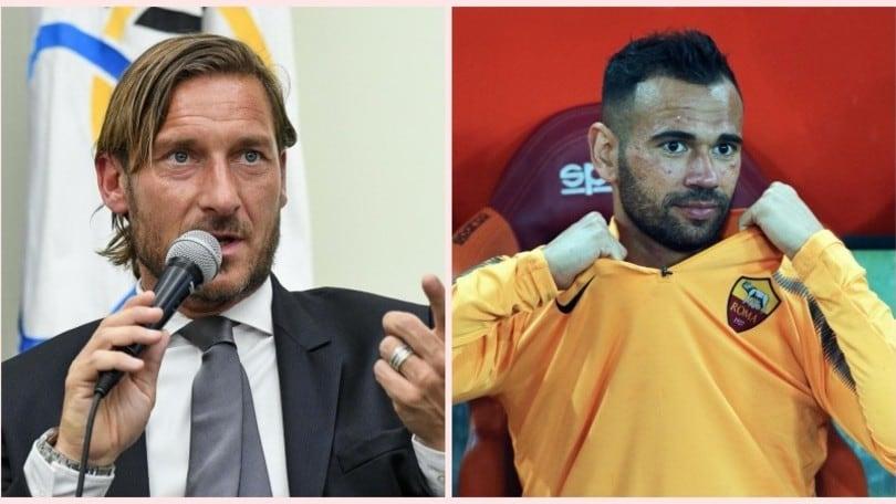 Totti, messaggio a Castan. Il brasiliano si emoziona: