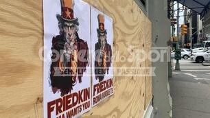 """New York tappezzata con volantini: """"Friedkin, Roma ti vuole"""""""