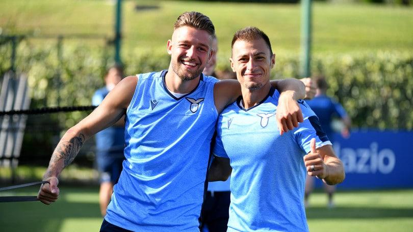 Lazio, Milinkovic c'è e segna un gran gol. Inzaghi aspetta anche Leiva