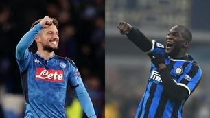 Coppa Italia, Napoli-Inter: ecco le probabili formazioni