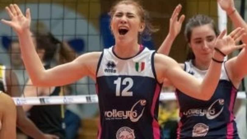 Claudia Consoli completa il reparto posti 3 di Roma