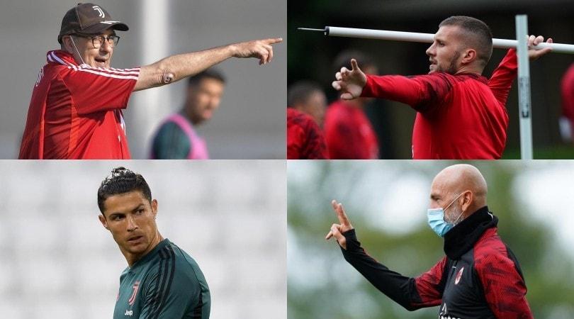 Coppa Italia, Juve-Milan: le probabili formazioni