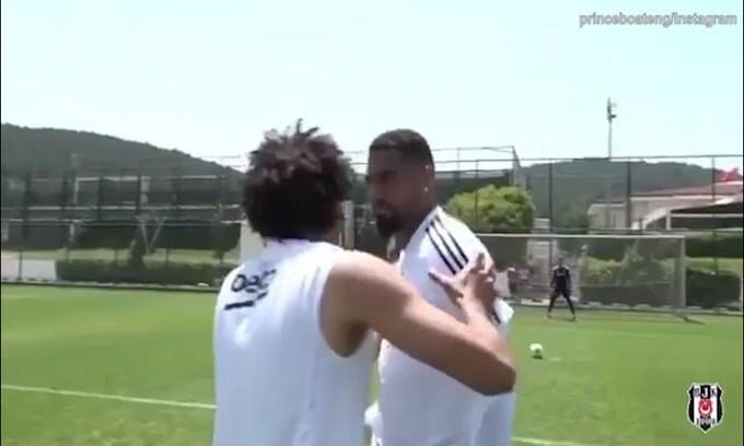 Boateng è pronto: super gol in allenamento!