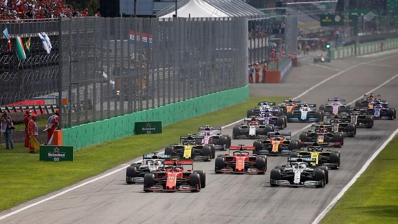 F1, il Gran Premio d'Italia ufficialmente a porte chiuse