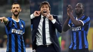 Napoli-Inter, la probabile formazione di Conte