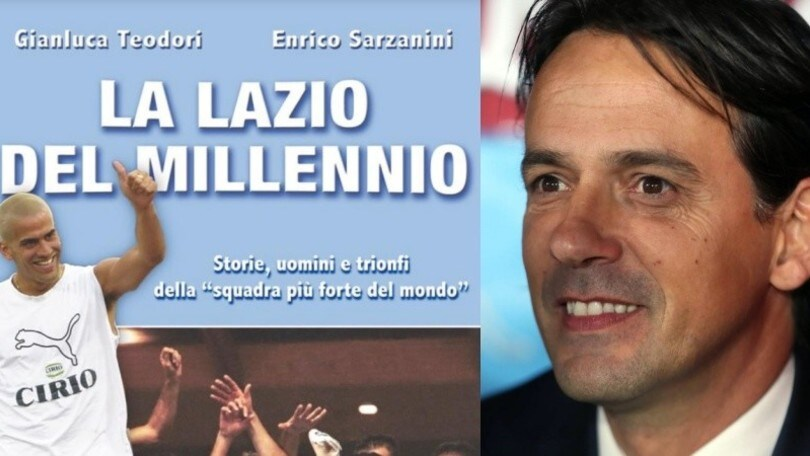 """'La Lazio del Millennio', un libro ripercorre i grandi successi. Inzaghi: """"Gioia incredibile"""""""