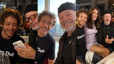 Valentino e Vasco, i Rossi a cena insieme dopo il lockdown