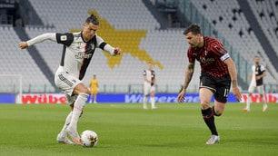 Ronaldo non brilla, Juve-Milan finisce senza gol