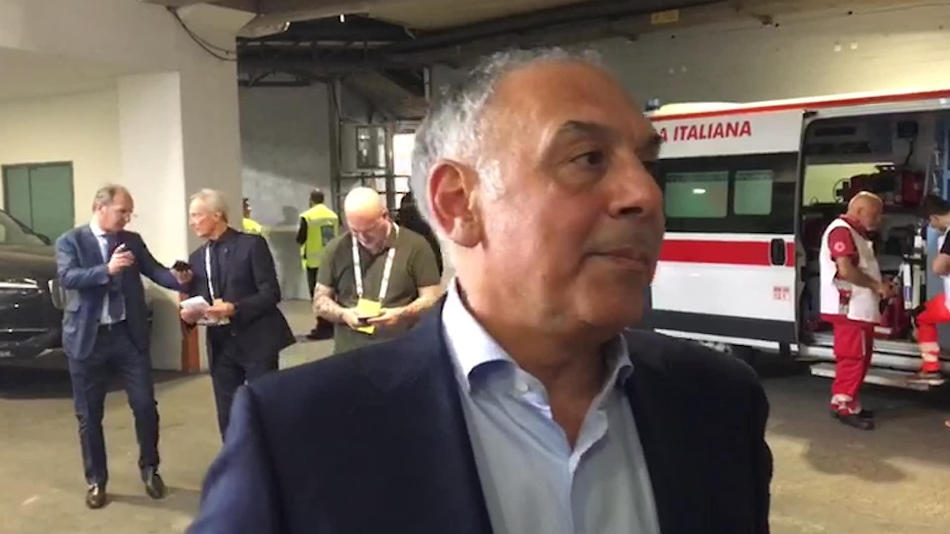 Roma: l'ultimo atto della contestazione dei tifosi