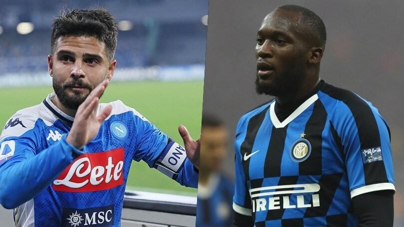 Diretta Napoli-Inter ore 21: formazioni ufficiali e dove vederla in tv