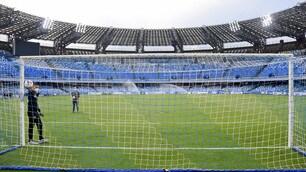 Napoli-Inter, Rocchi testa la goal-line technology