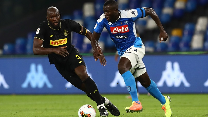 Coppa Italia Napoli-Inter 1-1, il tabellino