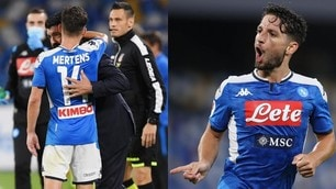 Napoli, la notte di Mertens: finale di Coppa Italia e record di gol