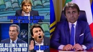 Napoli-Inter, Conte saluta la Coppa Italia e diventa il bersaglio dei social