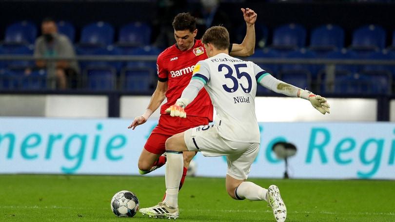 Bundesliga: pari tra Leverkusen e Schalke, vittoria d'oro per l'Augsburg