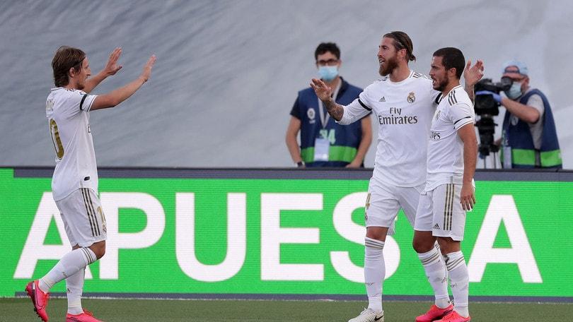 Il Real Madrid risponde al Barcellona: 3-1 all'Eibar