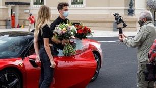 """Le grand rendez-vous"", Leclerc guida la Ferrari SF90 Stradale FOTO"