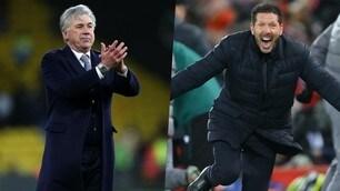 Da Ancelotti a Simeone: la classifica degli eurotop