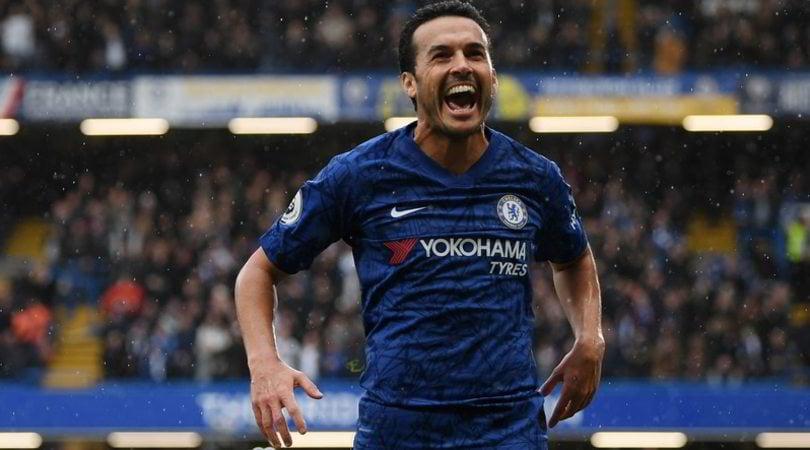 Roma, Pedro saluta il Chelsea:
