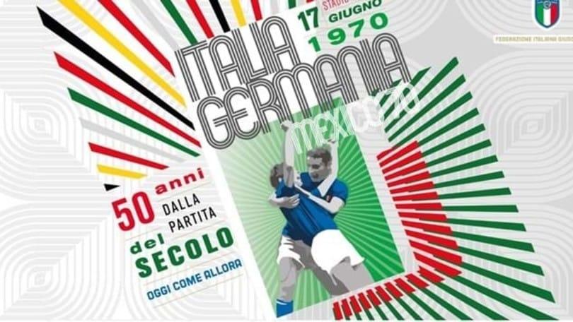 La Figc celebra i 50 anni di Italia-Germania 4-3