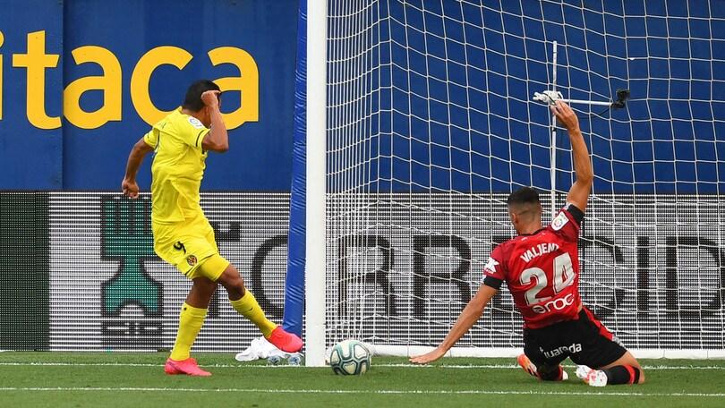 Bacca decide Villarreal-Maiorca. L'Espanyol frena il Getafe