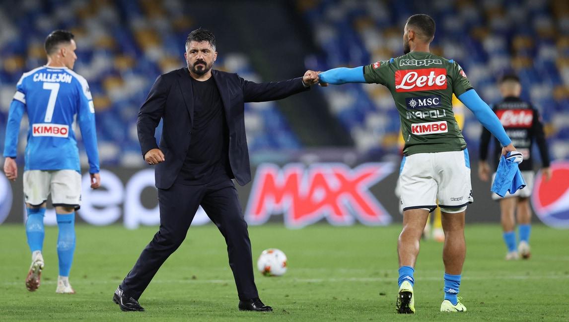 Napoli-Juve: la probabile formazione di Gattuso