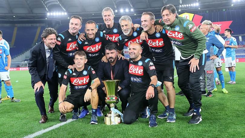 """Gattuso fa festa con il Napoli: """"C'è un Dio del calcio"""""""