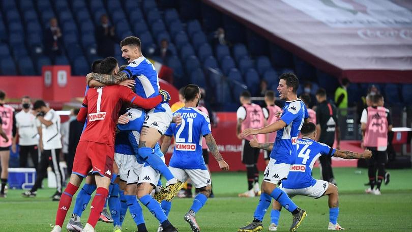 Napoli-Juve fa volare Rai1: oltre i 10 milioni di spettatori