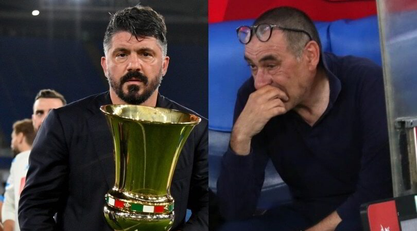 Gattuso in sei mesi ha cancellato Sarri: è nella storia del Napoli