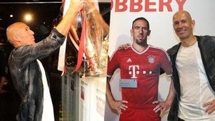 "Robben solleva la sua Champions League ""insieme"" a Ribery"