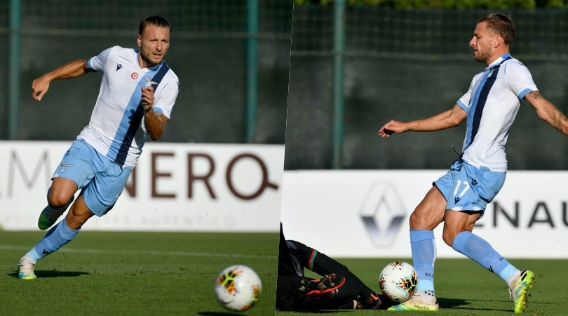 Lazio, 7-2 alla Ternana: Immobile già in forma campionato