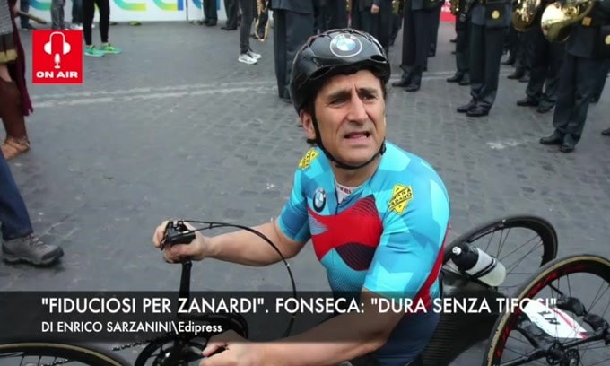 """Fiduciosi per Zanardi"". Fonseca: ""Dura senza tifosi"""
