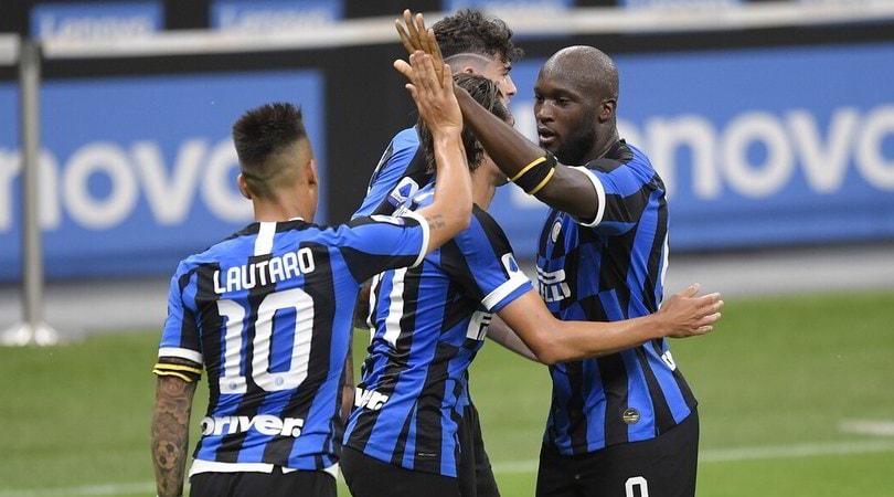 Inter-Sampdoria 2-1: Lukaku e Lautaro portano Conte a -6 dalla Juve