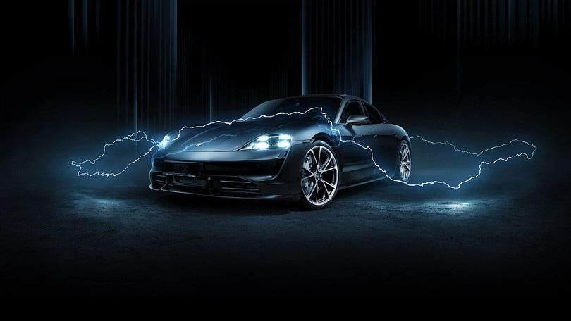 Porsche Taycan, tuning elettrizzante con Techart