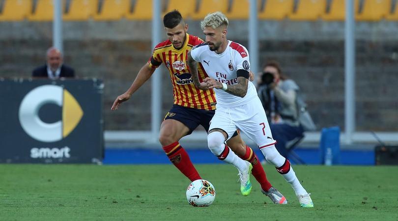 Lecce-Milan 1-4, il tabellino