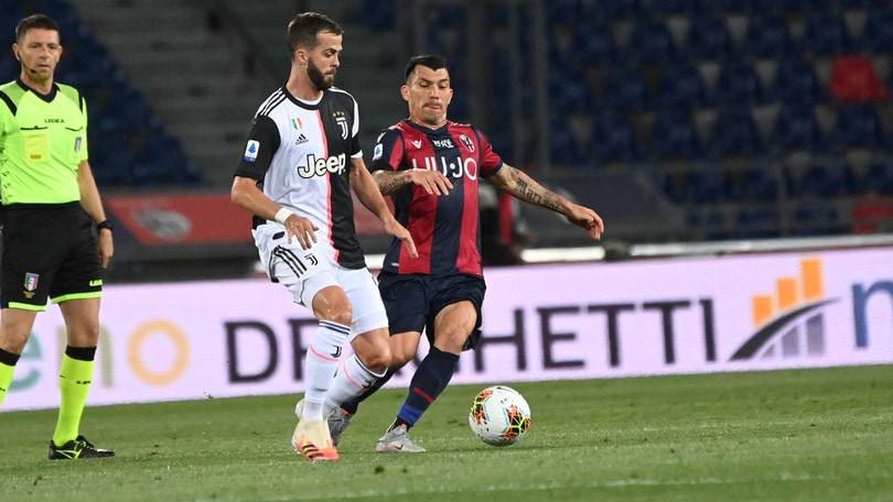 Bologna-Juve 0-2, il tabellino