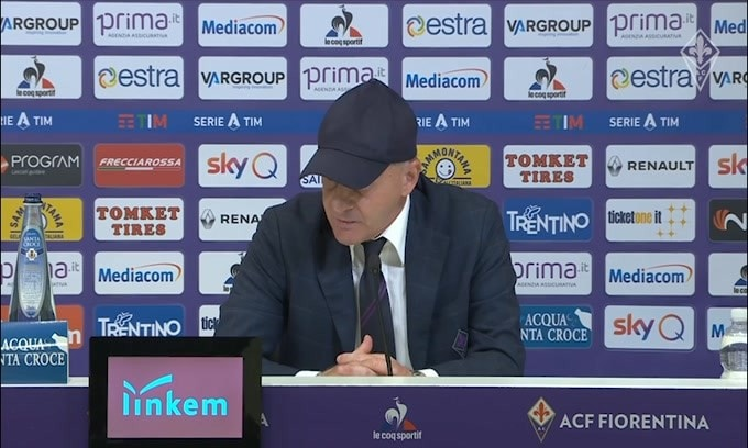 """Iachini: """"A Ribery è mancato solo il gol"""""""
