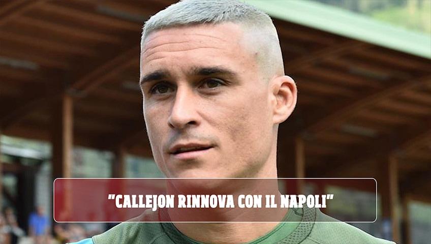 """""""Callejon rinnova con il Napoli"""". Ma è una fake news: la moglie si infuria sui social"""