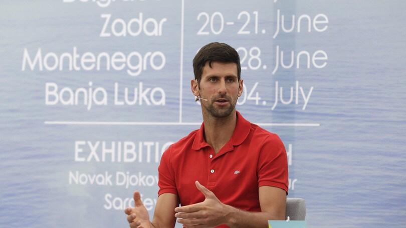 Coronavirus, Gaudenzi critica Djokovic: