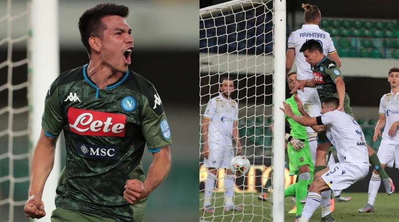 Napoli, Lozano entra e segna al Verona: è tornato il Chucky